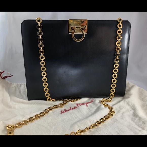 0ae8573986df Salvatore Ferragamo Bags | Gancini Chain Shoulder Bag | Poshmark